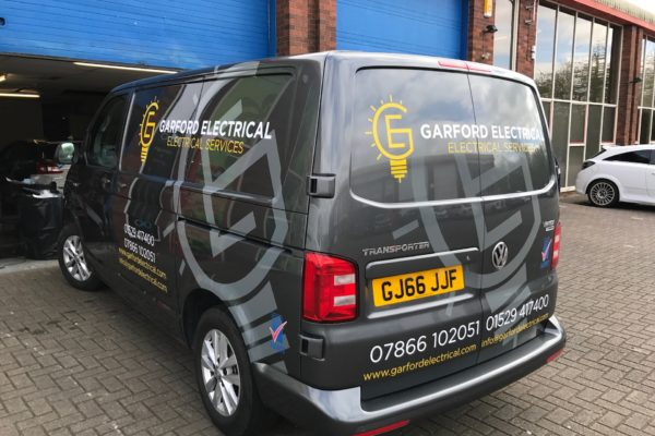 Electrician Van graphics