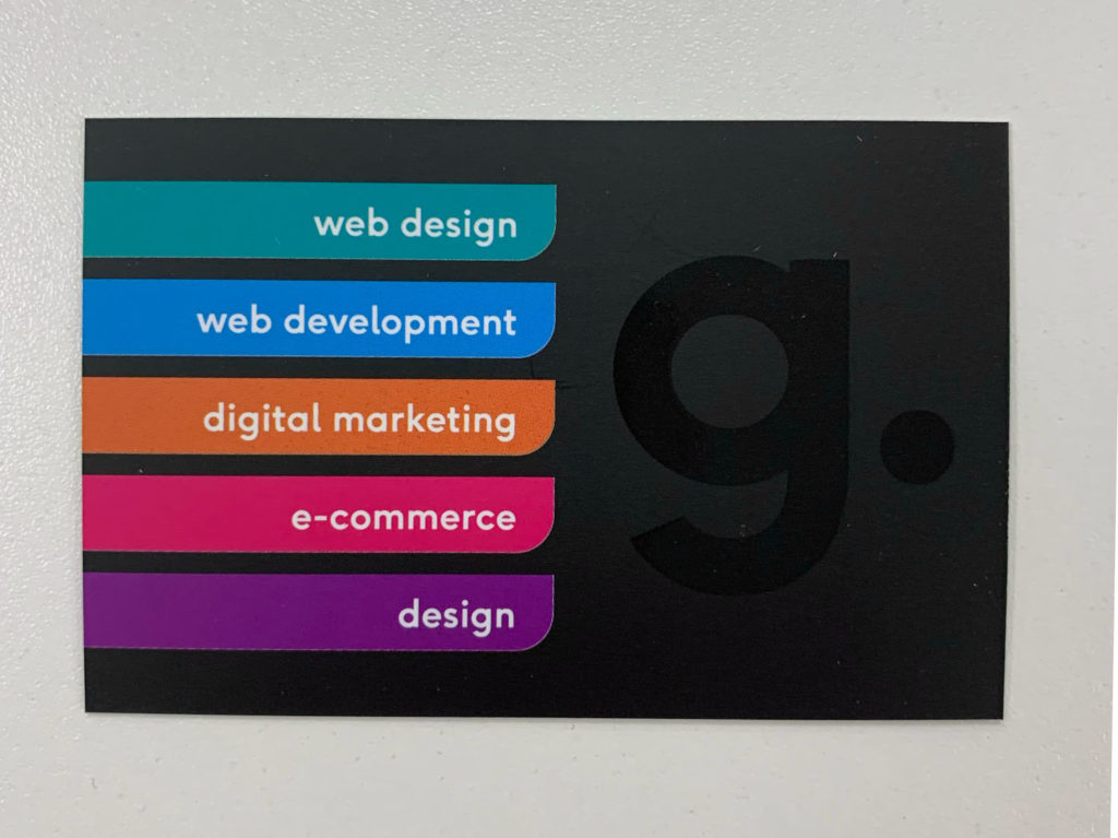 Spot Gloss UV Business Cards